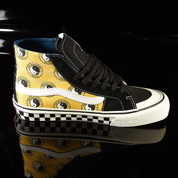 Vans Sk8 Hi 138 Decon Shoe TC Surf, Black, Classic White Rotate 3 O'Clock