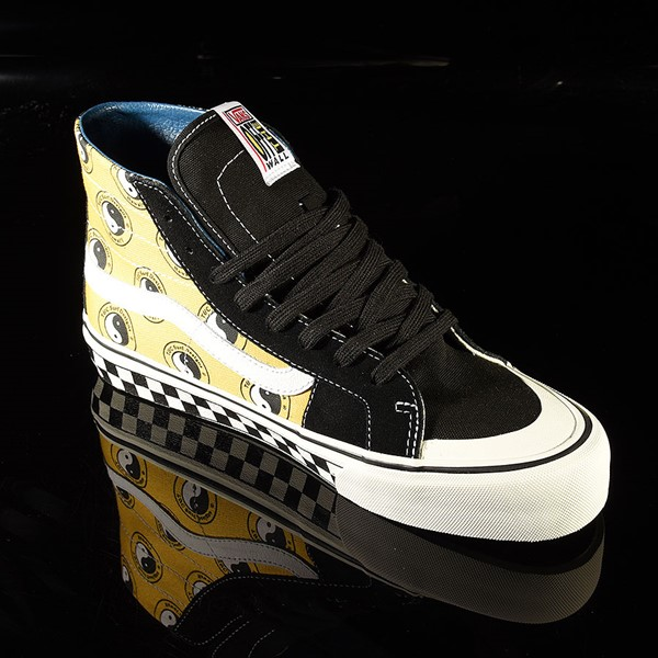 Vans Sk8 Hi 138 Decon Shoe TC Surf, Black, Classic White Rotate 4:30