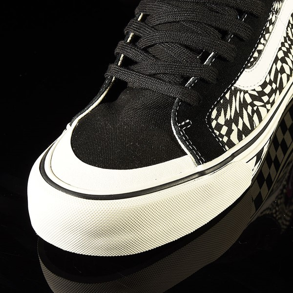 Vans Sk8 Hi 138 Decon Shoe TC Surf, Black, Classic White Closeup