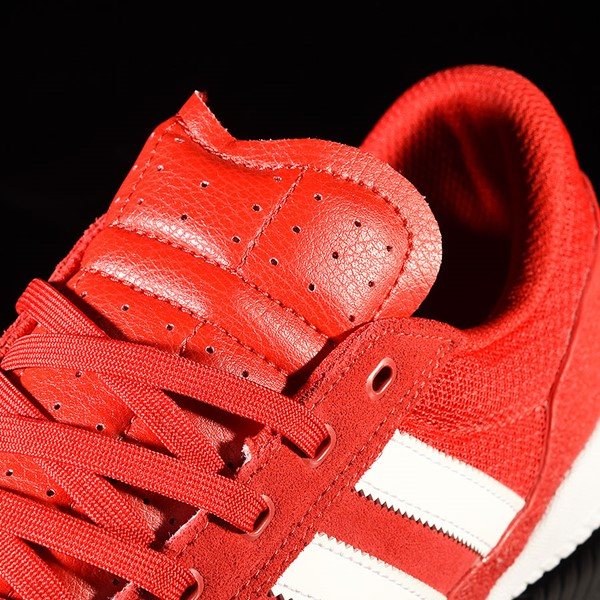 adidas City Cup Shoe Scarlet, White, White Tongue