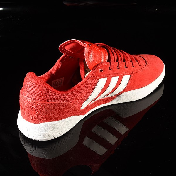 adidas City Cup Shoe Scarlet, White, White Rotate 1:30
