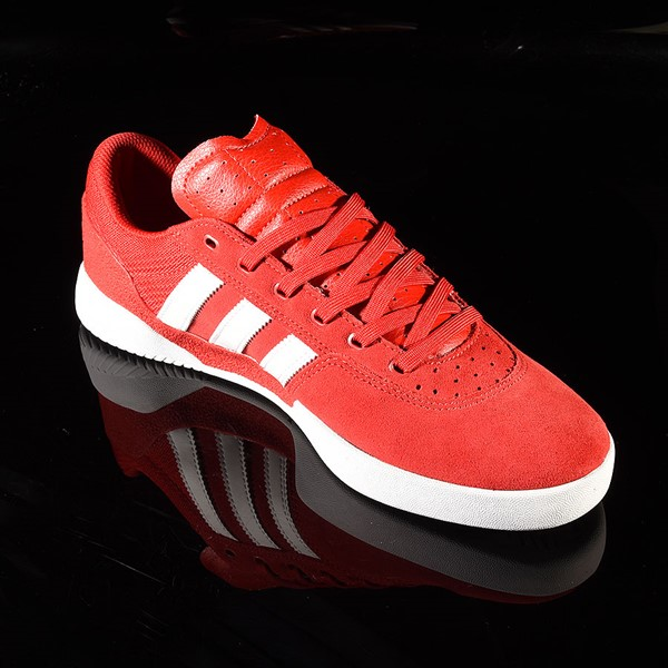 adidas City Cup Shoe Scarlet, White, White Rotate 4:30