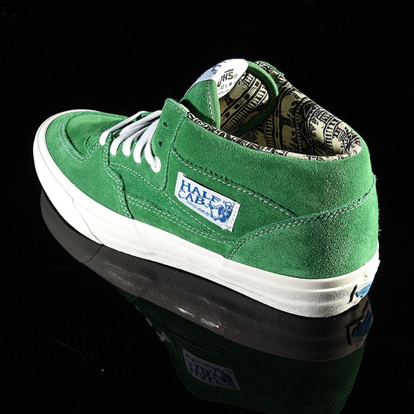 Vans Half Cab Pro Shoes Ray Barbee, Green Rotate 7:30