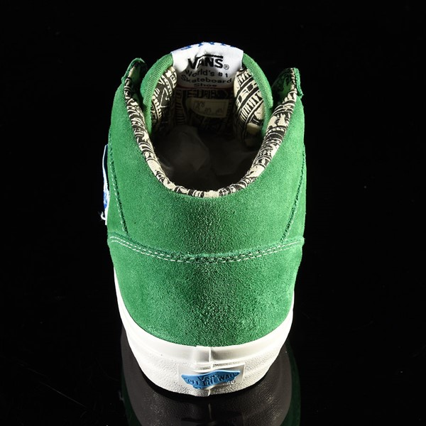 Vans Half Cab Pro Shoes Ray Barbee, Green Rotate 12 O'Clock