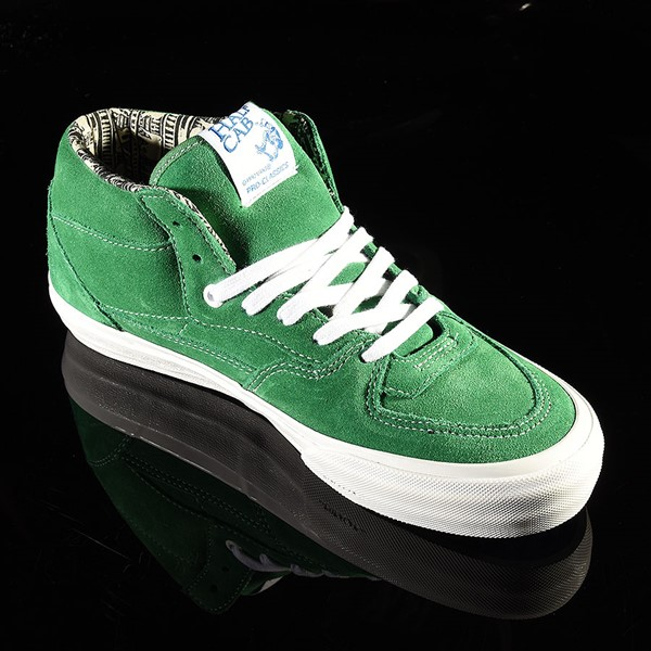 Vans Half Cab Pro Shoes Ray Barbee, Green Rotate 4:30