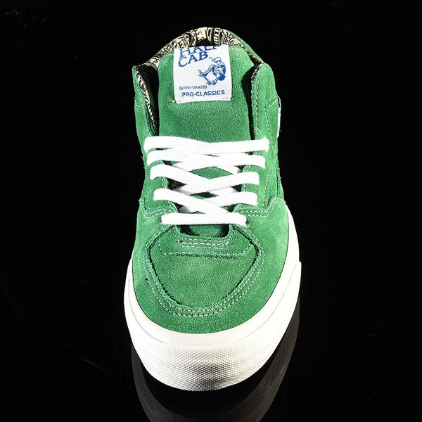Vans Half Cab Pro Shoes Ray Barbee, Green Rotate 6 O'Clock