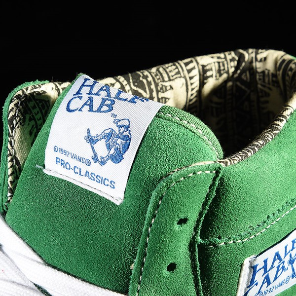 Vans Half Cab Pro Shoes Ray Barbee, Green Tongue