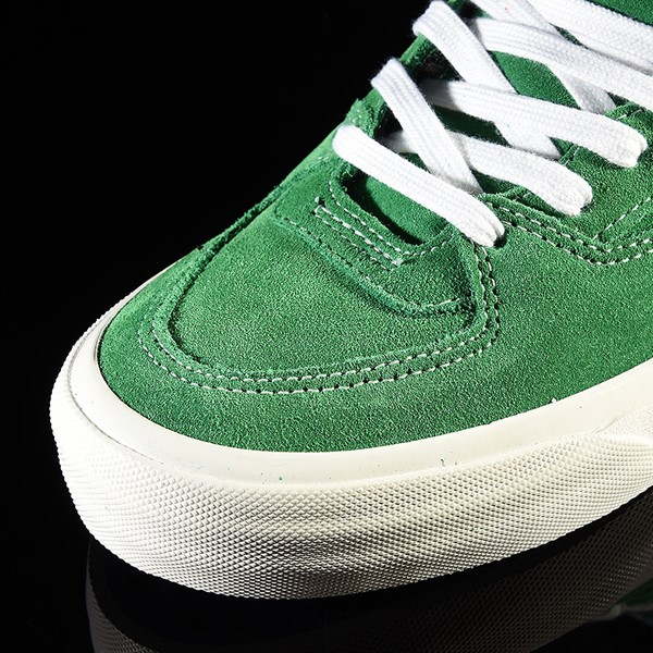 Vans Half Cab Pro Shoes Ray Barbee, Green Closeup