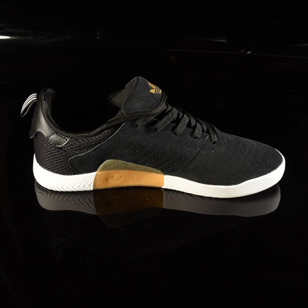 adidas 3ST.003 Shoe Black, Granite, White Rotate 3 O'Clock
