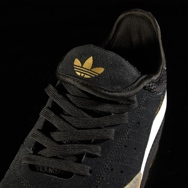 adidas 3ST.003 Shoe Black, Granite, White Tongue