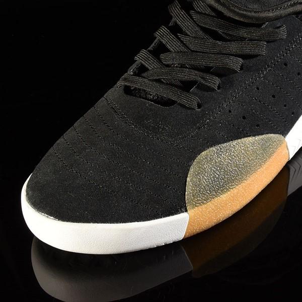 adidas 3ST.003 Shoe Black, Granite, White Closeup