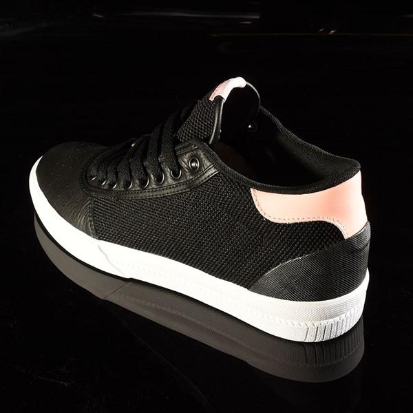 adidas Lucas Premiere Mid Shoe Black, White, Haze Coral Rotate 7:30