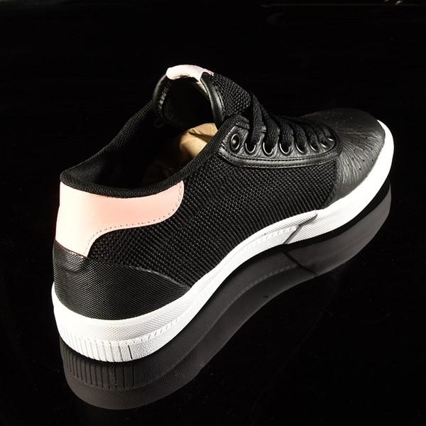 adidas Lucas Premiere Mid Shoe Black, White, Haze Coral Rotate 1:30