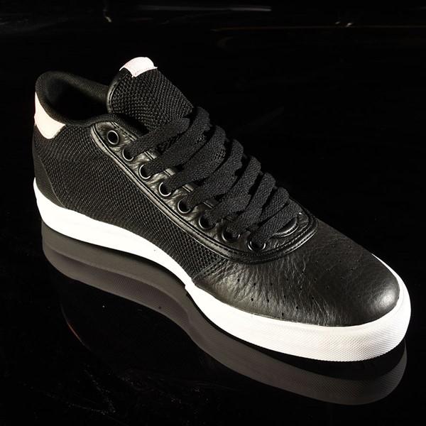 adidas Lucas Premiere Mid Shoe Black, White, Haze Coral Rotate 4:30