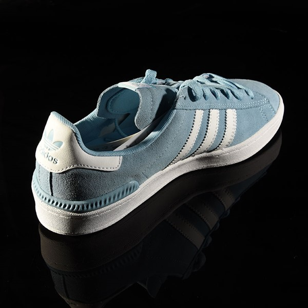adidas Campus ADV Shoe Clear Blue, White Rotate 1:30