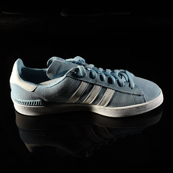 adidas Campus ADV Shoe Clear Blue, White Rotate 3 O'Clock