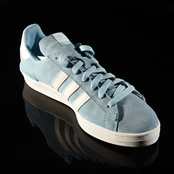 adidas Campus ADV Shoe Clear Blue, White Rotate 4:30
