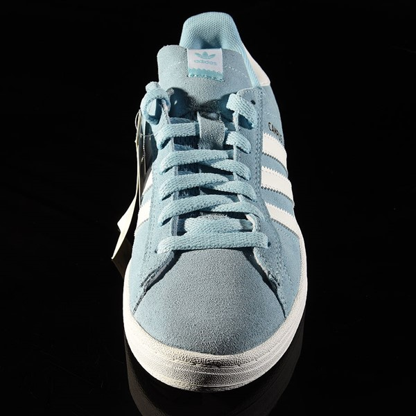 adidas Campus ADV Shoe Clear Blue, White Rotate 6 O'Clock