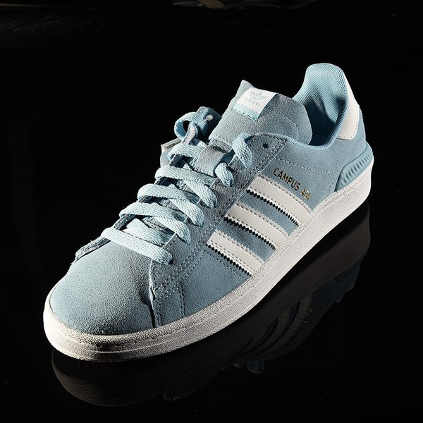 adidas Campus ADV Shoe Clear Blue, White Rotate 7:30