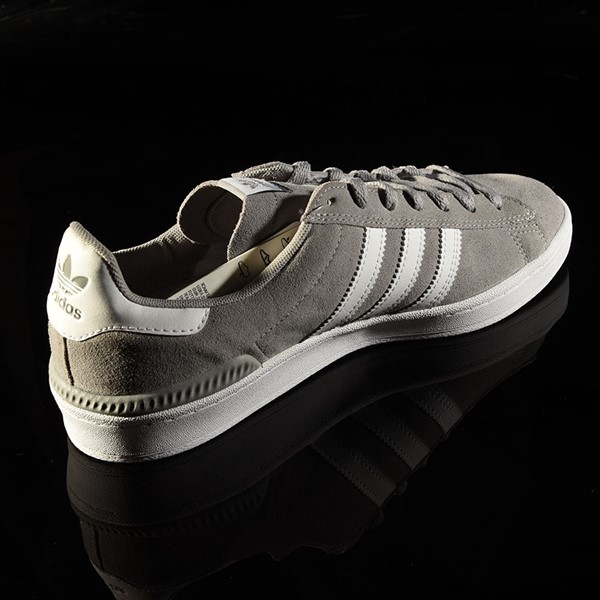 adidas Campus ADV Shoe Soft Grey, White Rotate 1:30