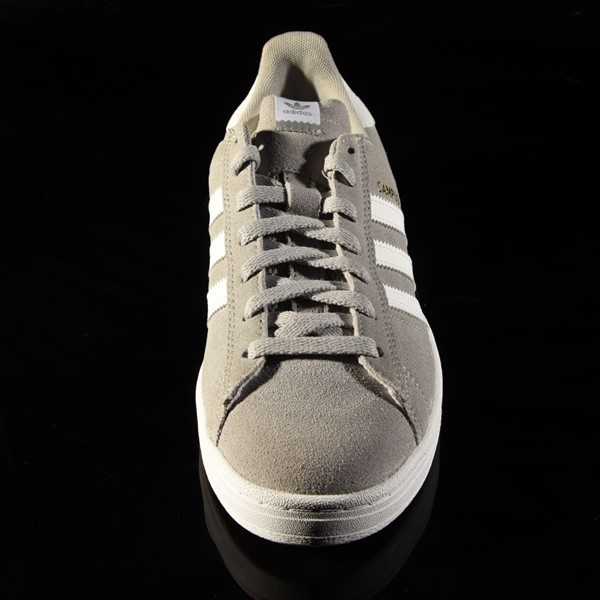 adidas Campus ADV Shoe Soft Grey, White Rotate 6 O'Clock