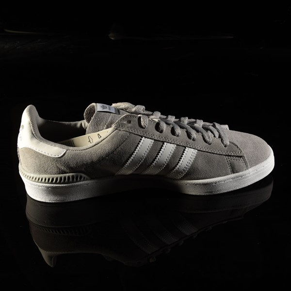 adidas Campus ADV Shoe Soft Grey, White Rotate 3 O'Clock