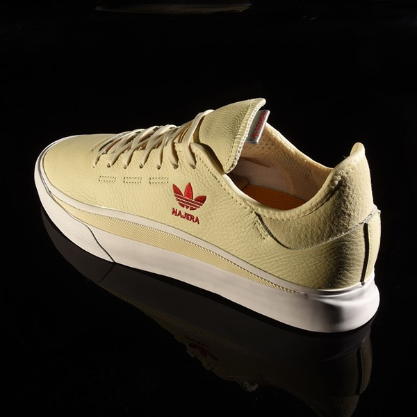 adidas Diego Najera Sabalo Shoes White, White, Power Red Rotate 7:30