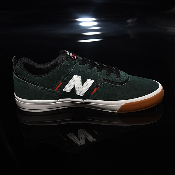 NB# Jamie Foy 306 Shoes Dark Green, Red, White Rotate 3 O'Clock