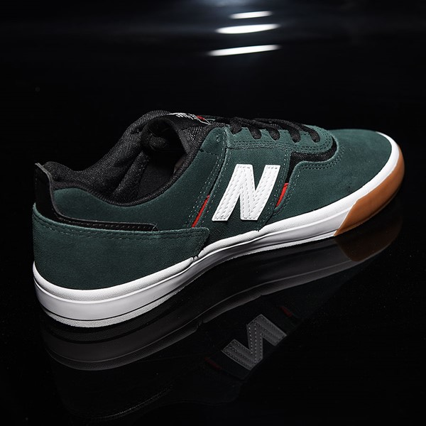 NB# Jamie Foy 306 Shoes Dark Green, Red, White Rotate 1:30