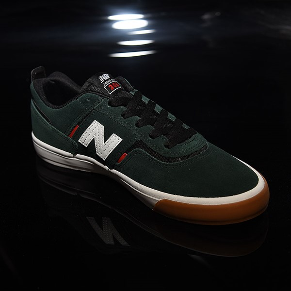 NB# Jamie Foy 306 Shoes Dark Green, Red, White Rotate 4:30