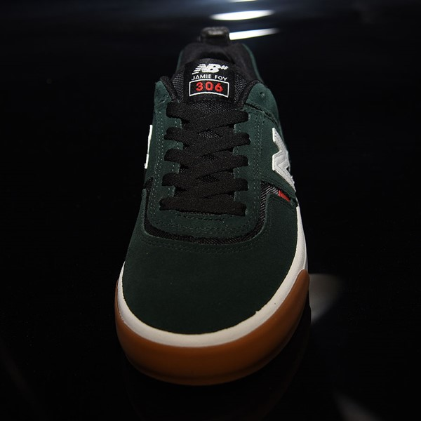 NB# Jamie Foy 306 Shoes Dark Green, Red, White Rotate 6 O'Clock