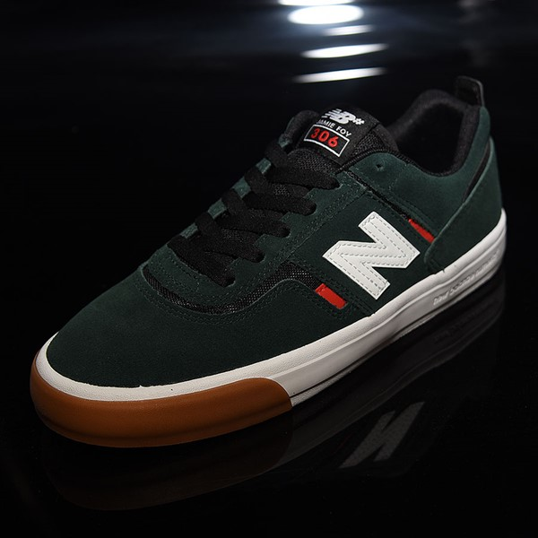 NB# Jamie Foy 306 Shoes Dark Green, Red, White Rotate 7:30
