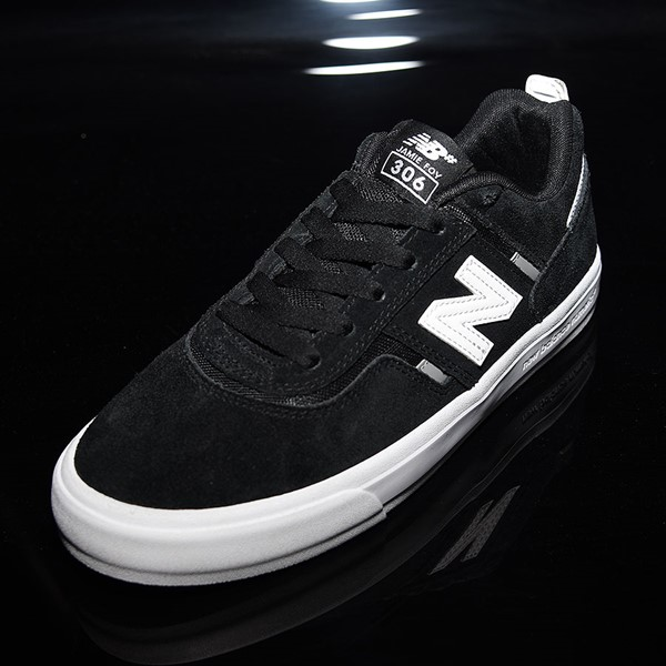 NB# Jamie Foy 306 Shoes Black, White Rotate 7:30