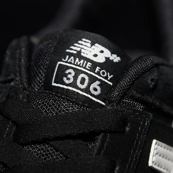 NB# Jamie Foy 306 Shoes Black, White Tongue
