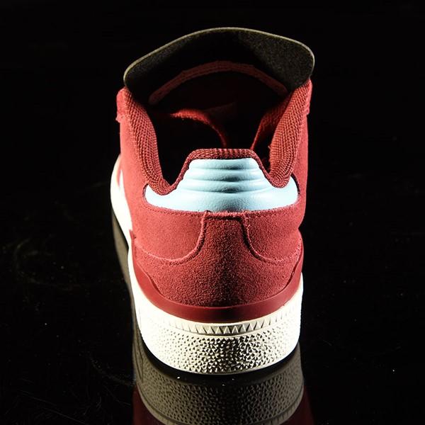 adidas Dennis Busenitz Signature Shoes Burgundy, Clear Blue Rotate 12 O'Clock