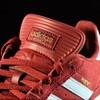 adidas Dennis Busenitz Signature Shoes Burgundy, Clear Blue Tongue