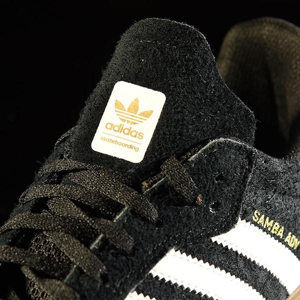 adidas Samba ADV Shoe Black, White Tongue