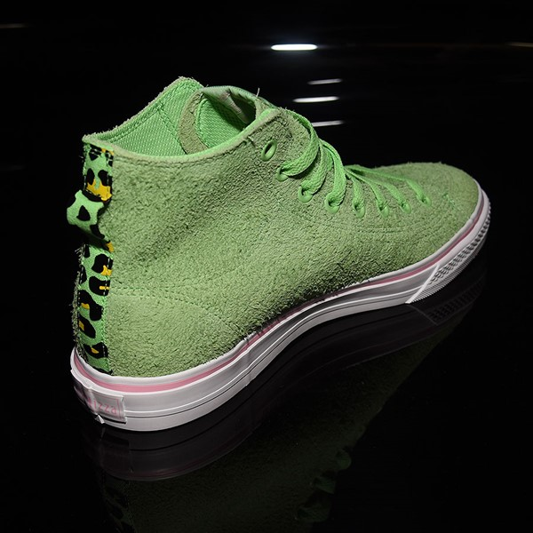 adidas Nizza Hi RF Shoes Spring Green, Cloud White, Light Pink Rotate 1:30