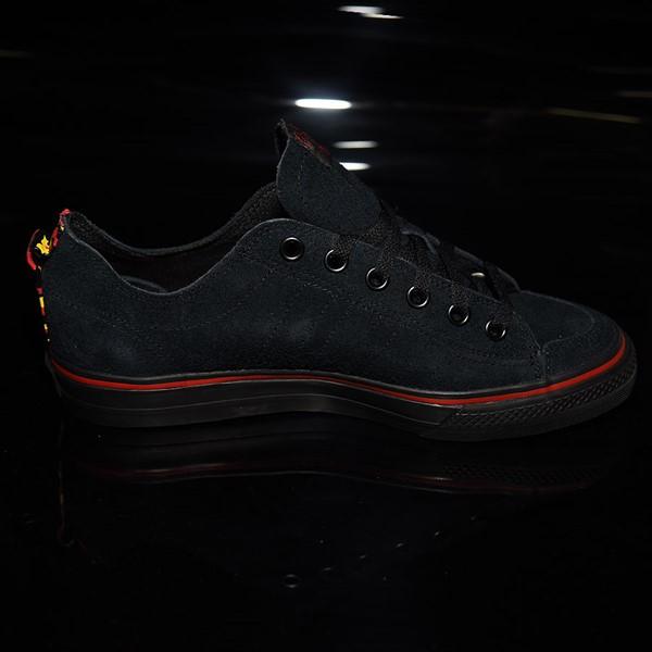 adidas Nizza RF Shoes Core Black, Scarlet, White Rotate 3 O'Clock
