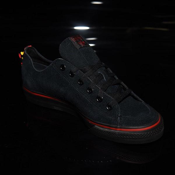 adidas Nizza RF Shoes Core Black, Scarlet, White Rotate 4:30