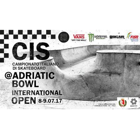 Adriatic Bowl Open - Italian Bowl Skateboarding Championship - Senior Finals