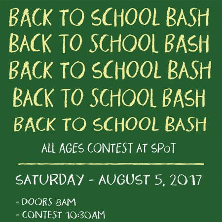 Back to School Bash Sponsored Finals