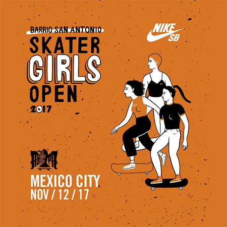 Ampa / Nike SB Skater Girls Open 17 Qualifiers