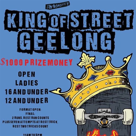 King Of Street Geelong Waterfront 12 and Under
