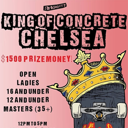 King Of Concrete Chelsea Open