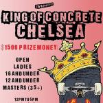 King Of Concrete Chelsea 16 and Under Results