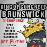 King Of Concrete Brunswick Bowl Open Results