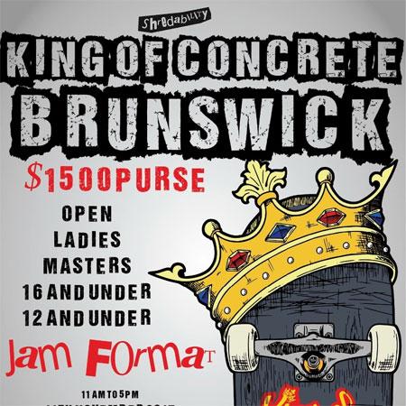 King Of Concrete Brunswick Bowl Ladies