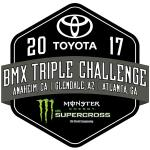 Toyota BMX Triple Challenge at Monster Energy SuperCross A1 Anahiem. January 5-6, 2018 Results