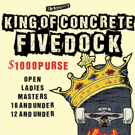 King Of Concrete Fivedock 16 and Under